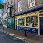 brawns of cowes is now a french brasserie!