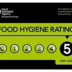 5 star food hygiene rating