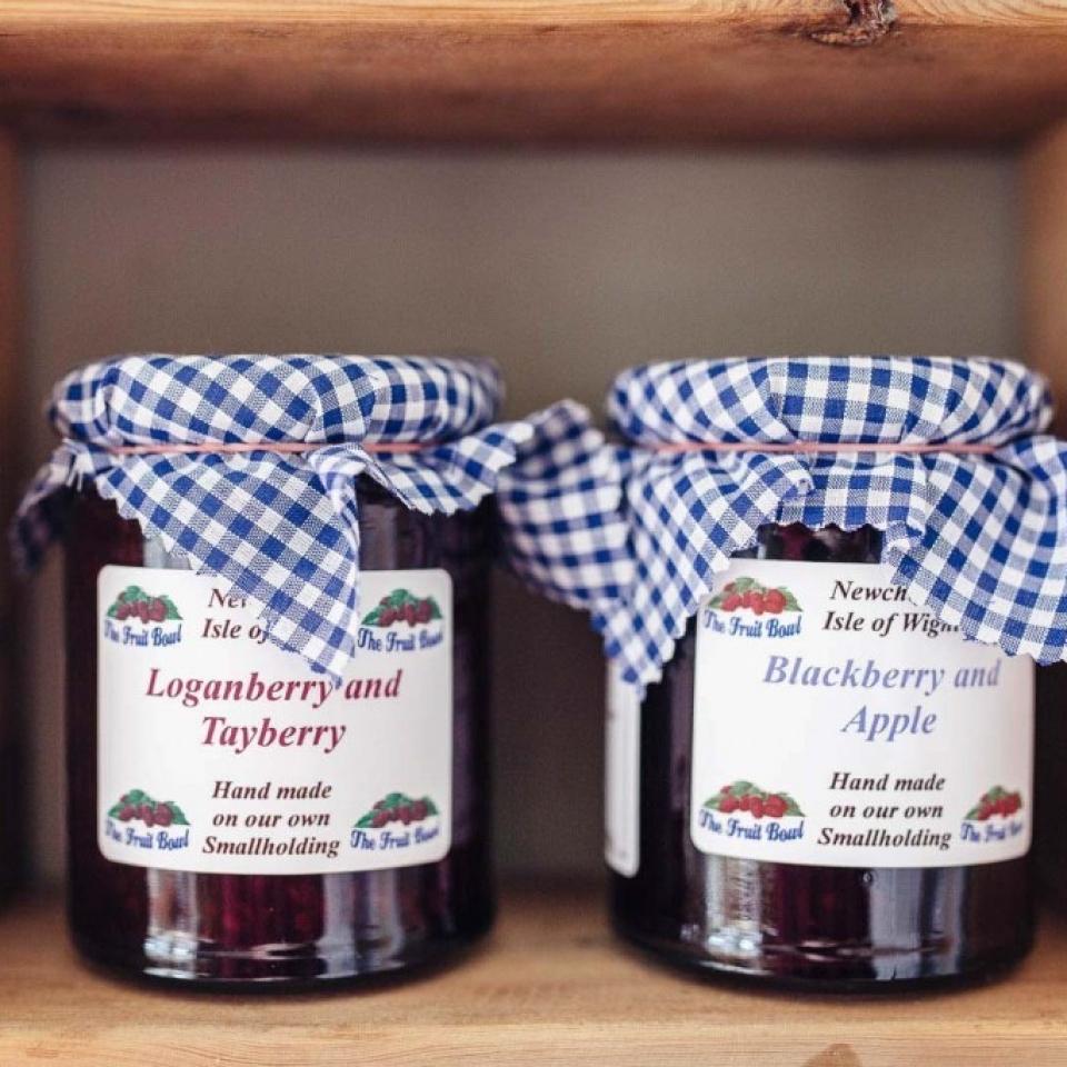 Fruit Bowl jam isle of wight accommodation