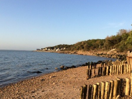 Gurnard beach, Isle of Wight