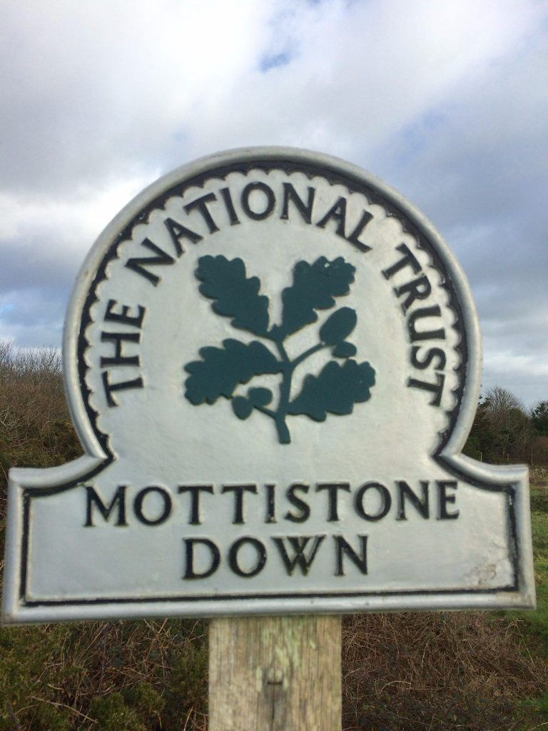 Mottistone Down Isle of Wight
